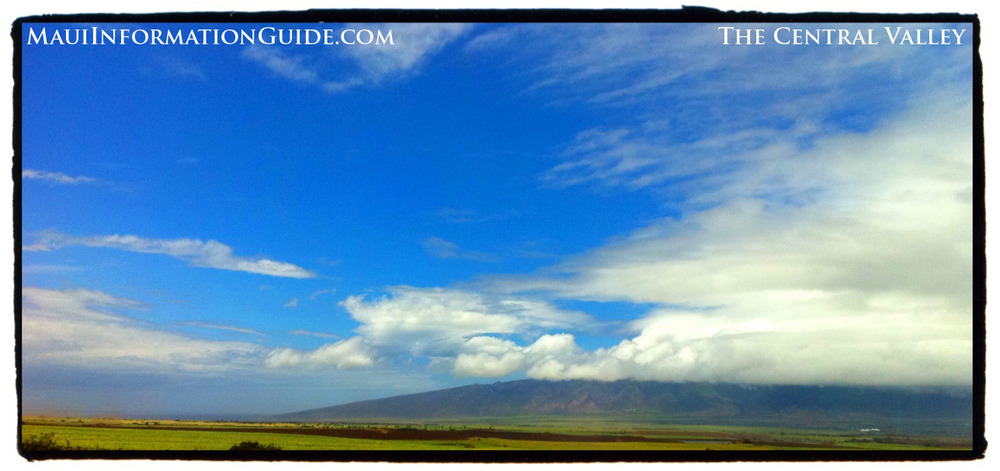 Photo taken from Haleakala Hwy
