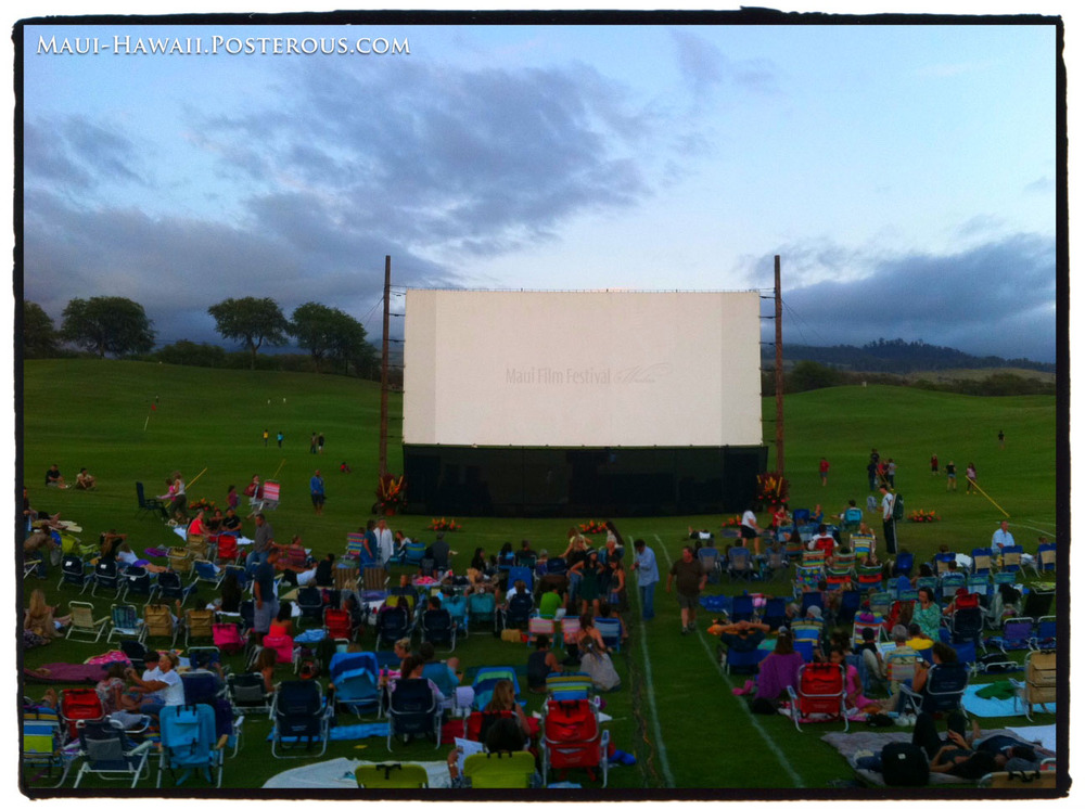 Maui Film Festival Begins with a BANG!
