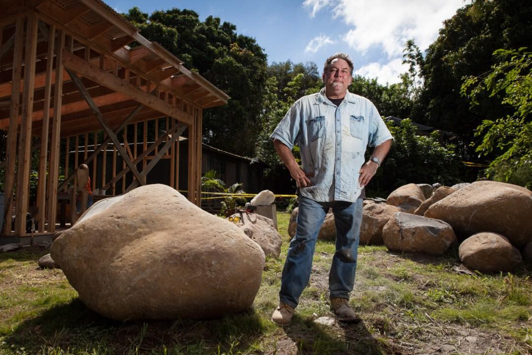 photo of Maui Artist Tim Garcia