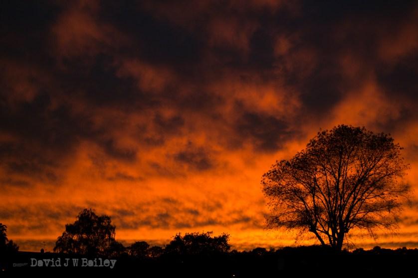Maulden Village Sunset