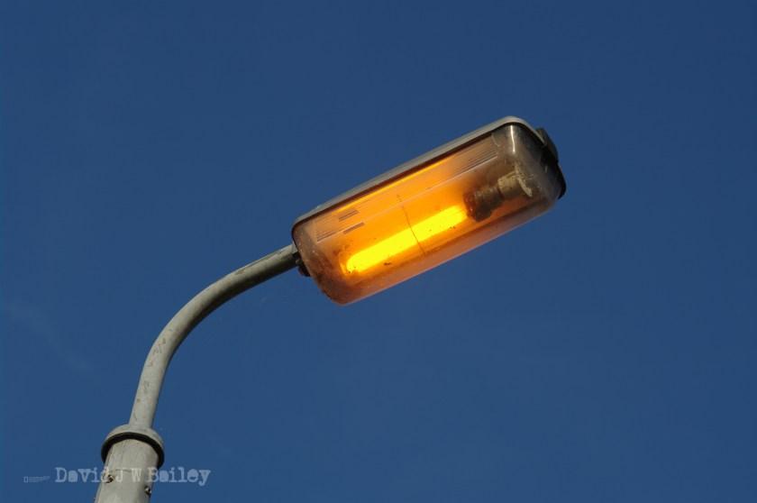 Street light in Maulden Village