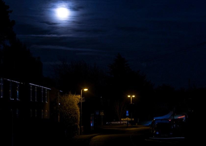 Maulden at night