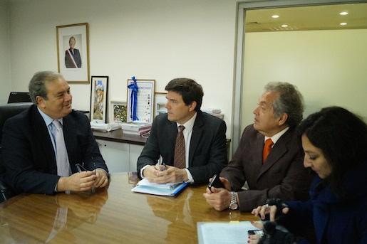 Propuesta de tren interurbano en el Maule recibe Ministro de Transporte
