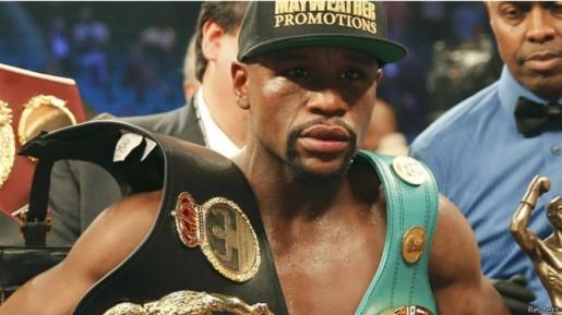 Despojan a Floyd Mayweather del cinturón que ganó contra Pacquiao por no pagar US $200.000