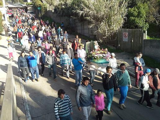 Pelluhue celebró a San Pedro y San Pablo