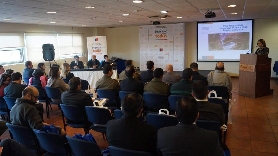 Consejo Regional de Seguridad Pública respalda Plan para año 2016