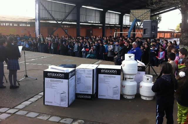 Colegios municipalizados de Cauquenes contarán con calefacción gracias a fondos SEP
