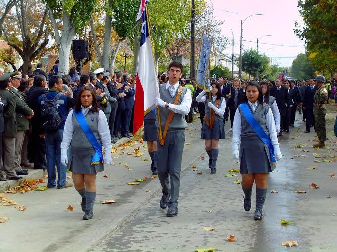 Con actividades oficiales se conmemoró el aniversario 274 de Cauquenes
