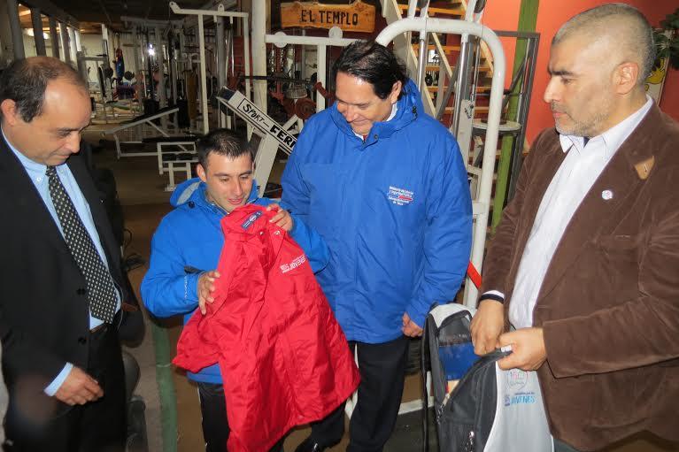Joven discapacitado de Constitución representará a Chile en Encuentro Internacional