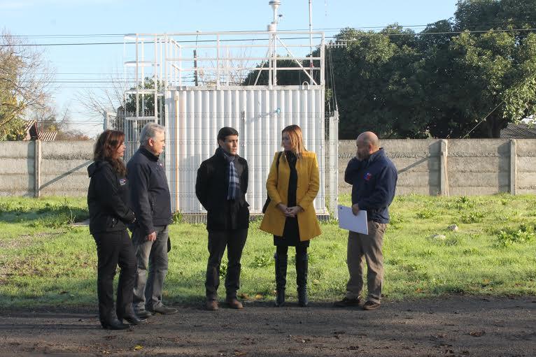 Estación de Monitoreo ya cuenta con indicadores con respecto a la calidad del aire en Linares