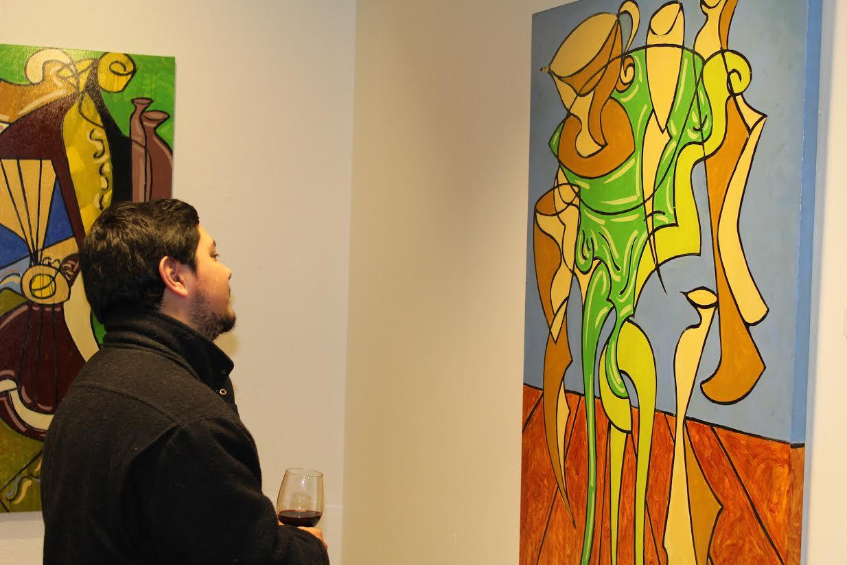 """""""De lo figurativo a lo abstracto"""" y """"Diez x 10"""" se exhiben en Universidad de Talca"""