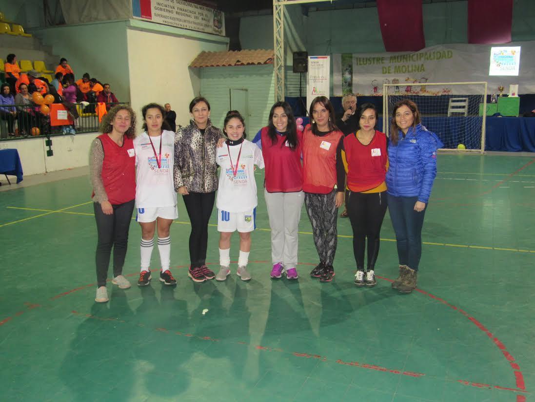 Con partido de baby fútbol autoridades conmemoraron el día internacional de la prevención en Molina