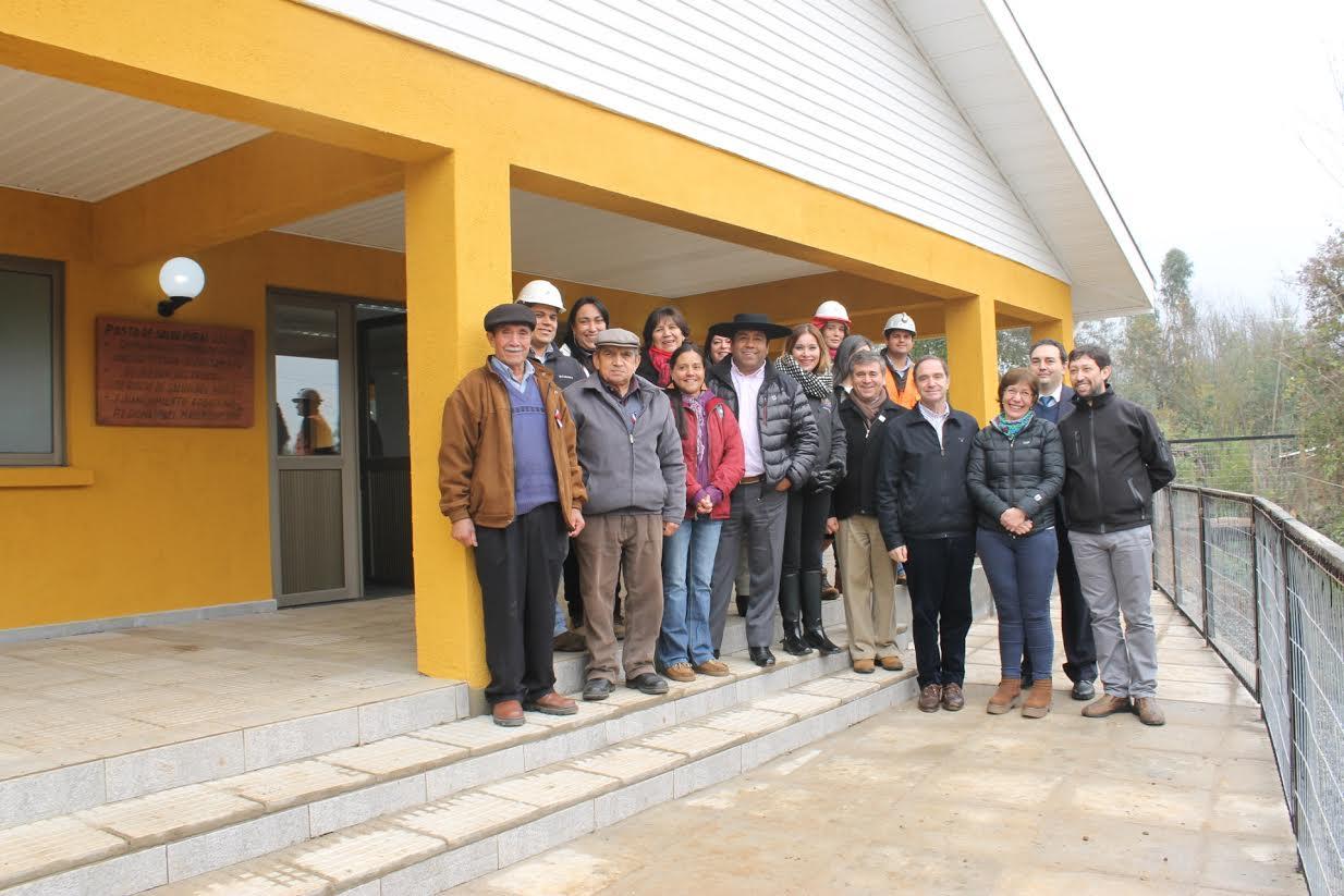Los vecinos de Quinamávida ahora cuentan con una posta de Salud Rural