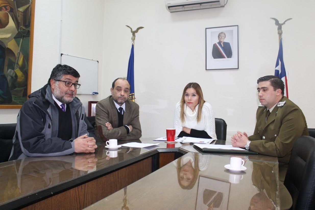 Se realizó reunión de coordinación para las primarias en la comuna de Linares