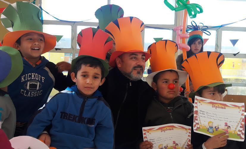 Circo Escuela en Vacaciones de Invierno JUNAEB Maule 2016