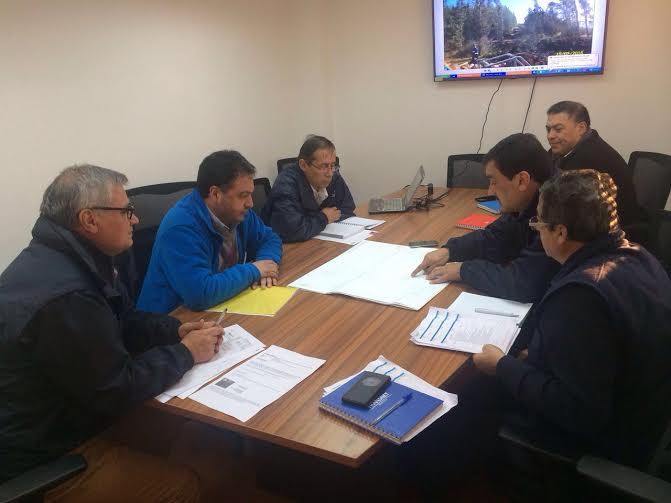 Alcalde de Licantén presentó molestia ante Superintendente de Electricidad y CGE por problemas ocasionados