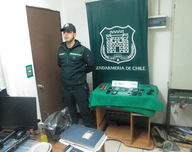 Encuentran municiones en allanamiento extraordinario de la Carcel de Talca
