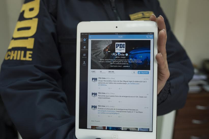 PDI Talca recuperó tablet sustraída desde vehículo