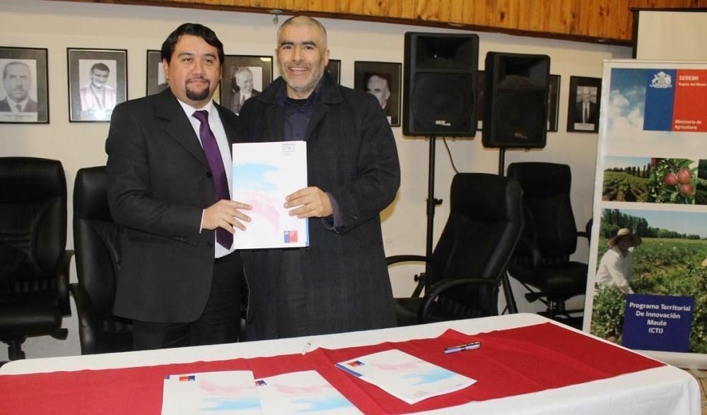 Seremi de Agricultura y SENCE firman convenio de colaboración en la Región del Maule