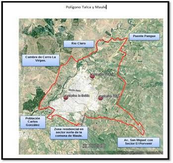 Intendente Pablo Meza declaró pre-emergencia ambiental en Talca y Maule