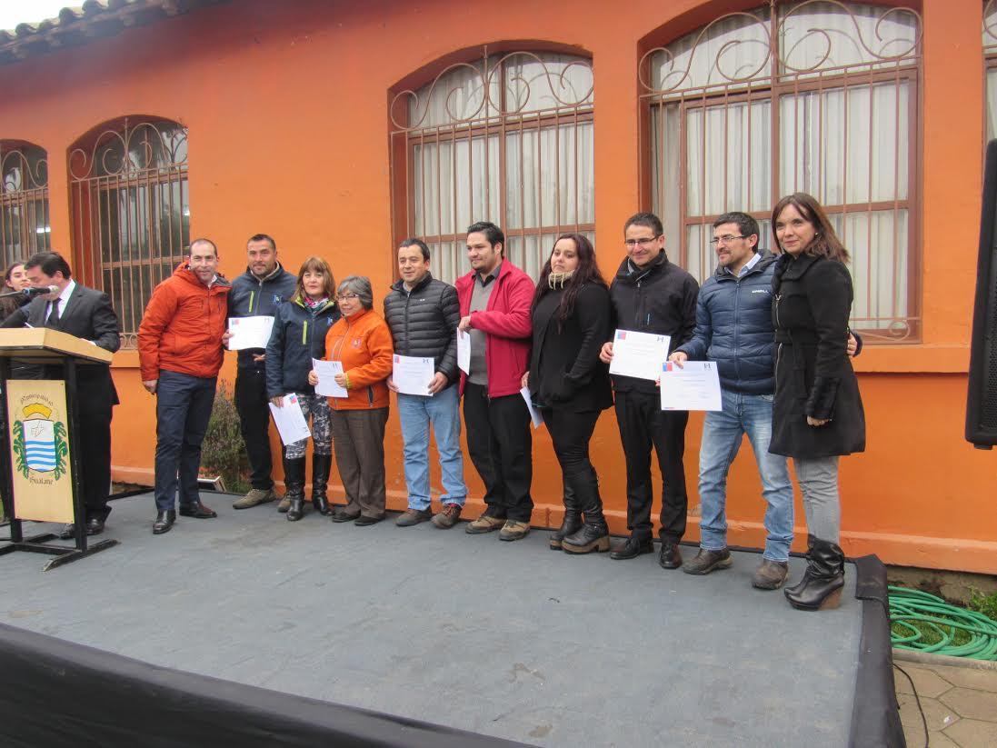 Espacio laboral preventivo fue certificado el Municipio de Hualañé