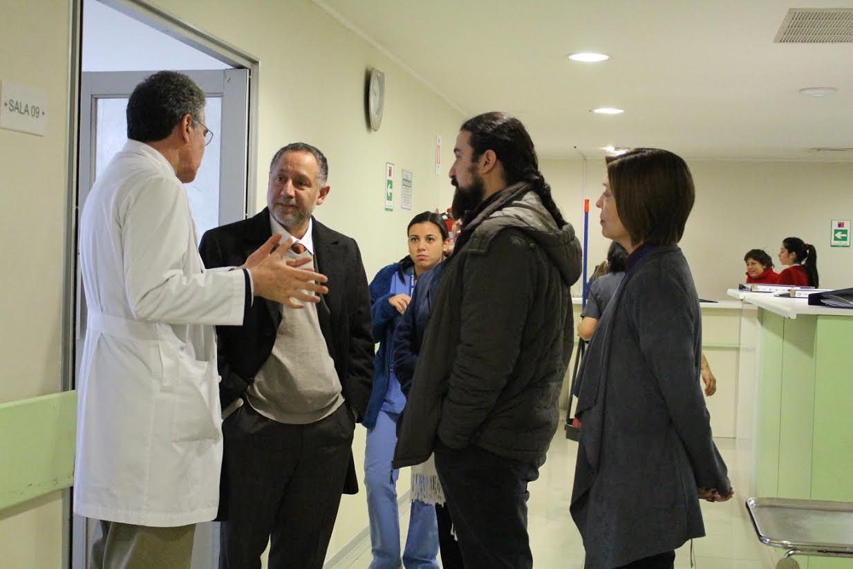 Nuevo director del servicio de salud entregó buenas noticias al Hospital de Curicó