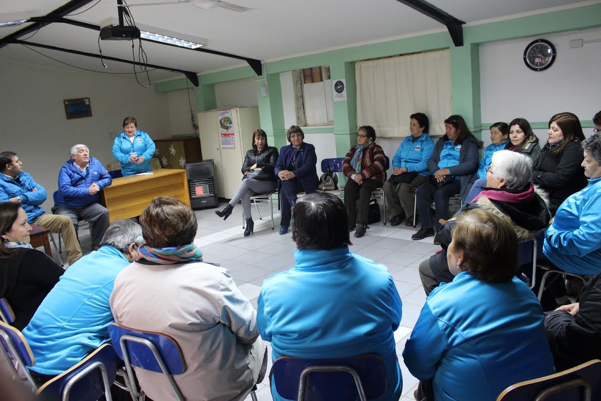 Municipalidad de Cauquenes presenta proyecto para refacción de jardín y compromete mantener SAPU del barrio estación