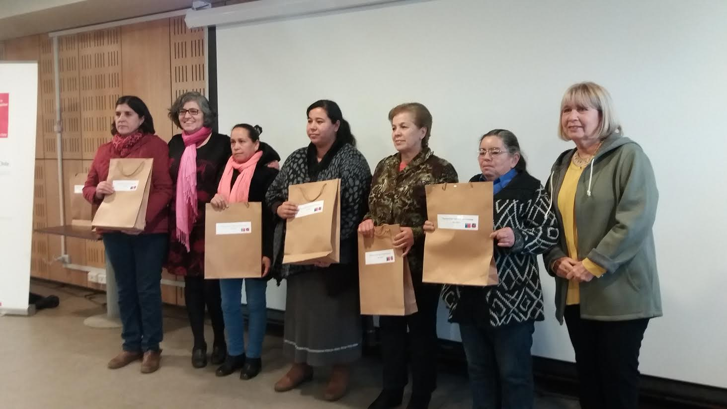 En Pencahue SERNAMEG lanzó el programa Mujer Jefas de Hogar
