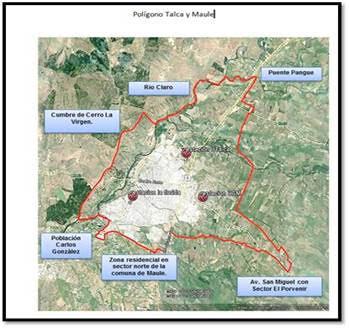 Declaran alerta ambiental para hoy en Talca y Maule