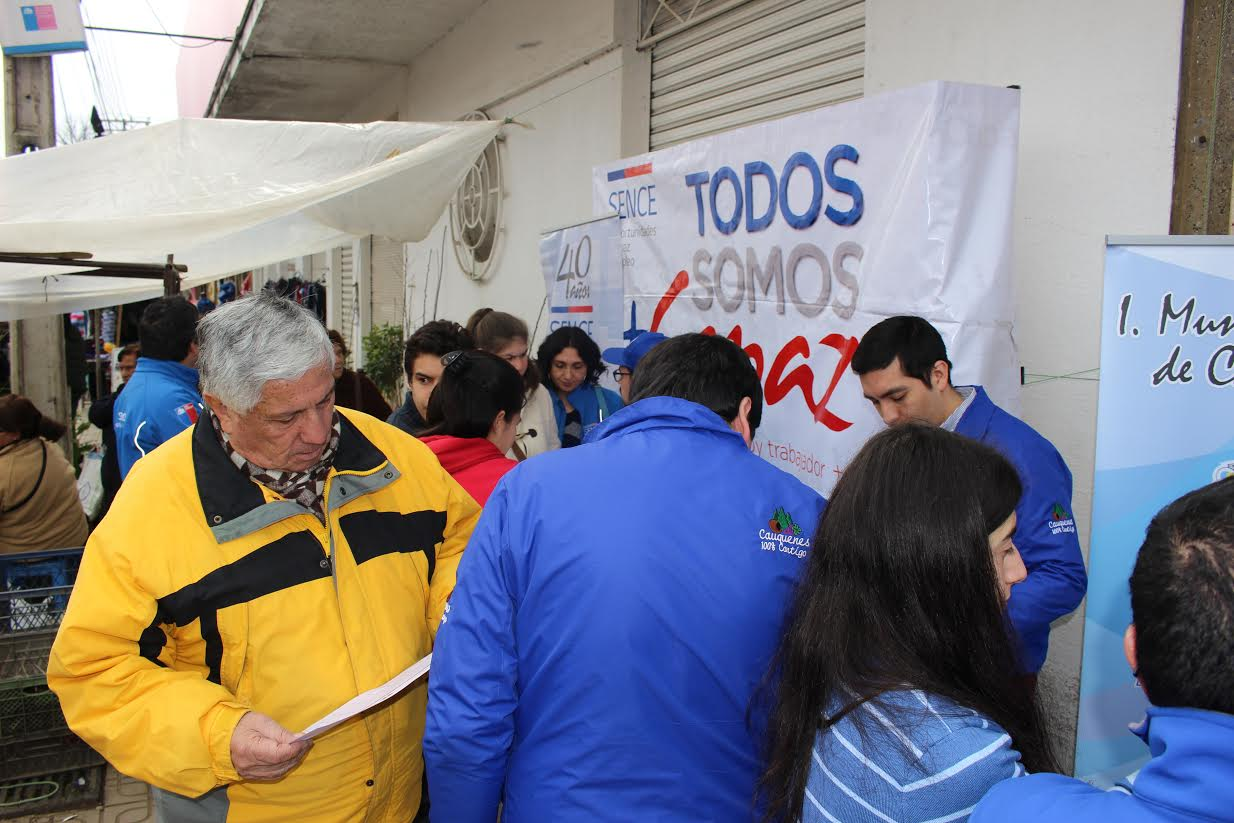 SENCE y Municipalidad de Cauquenes dan la partida a programa más capaz