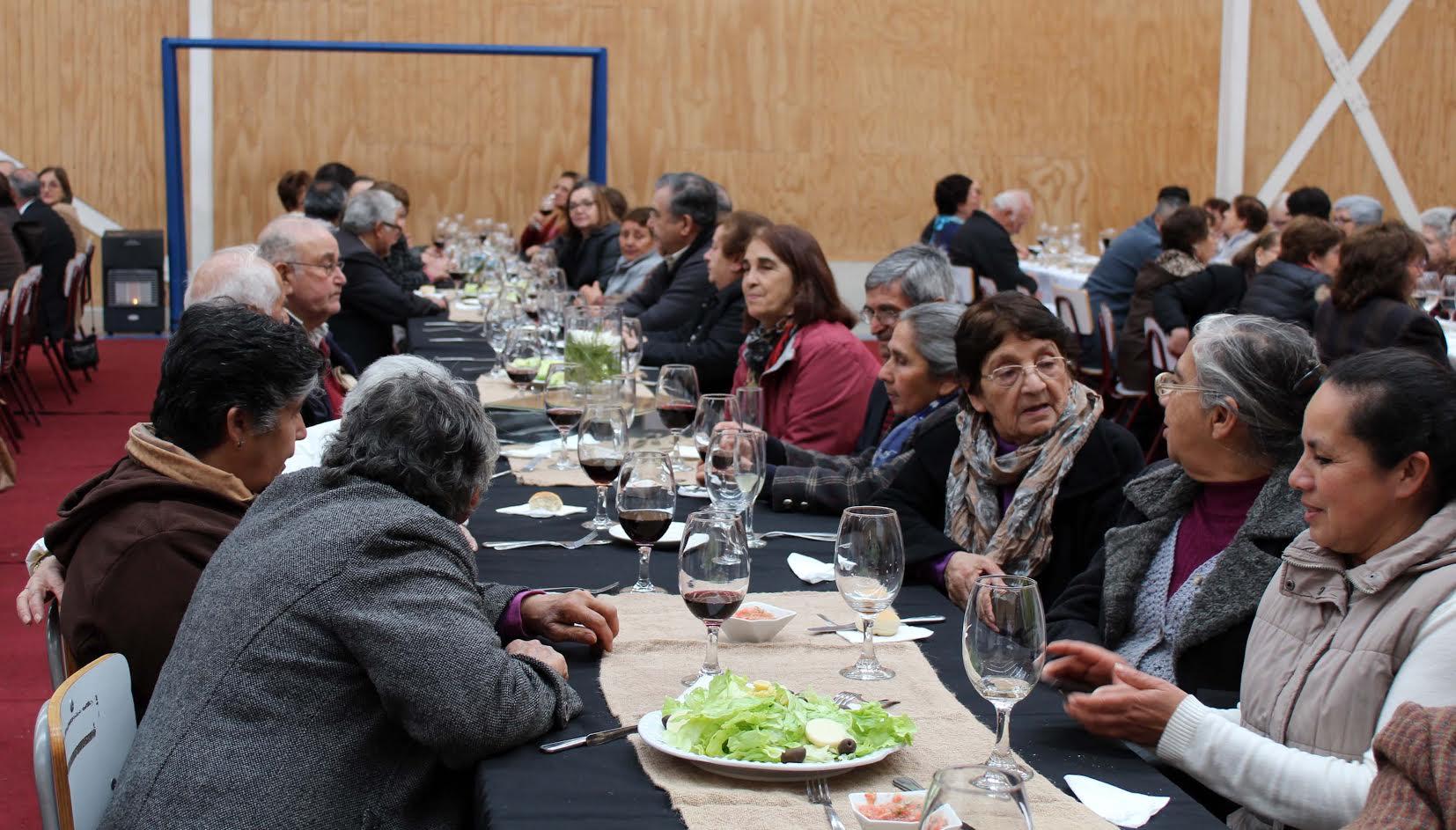 Unión Comunal del Adulto Mayor de Linares celebró su mayoría de edad