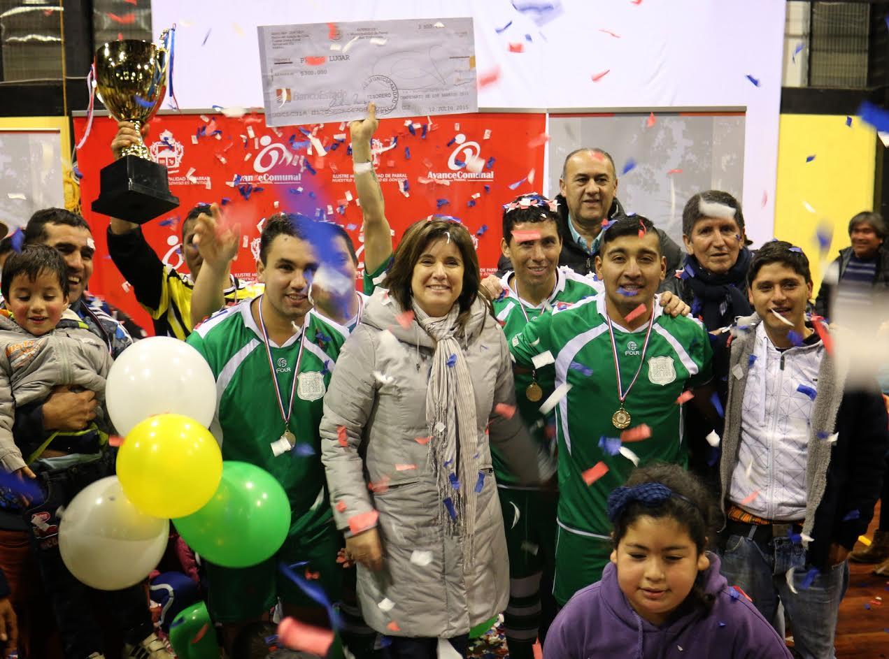Municipalidad de Parral destacó importante trabajo de apoyo al deporte local