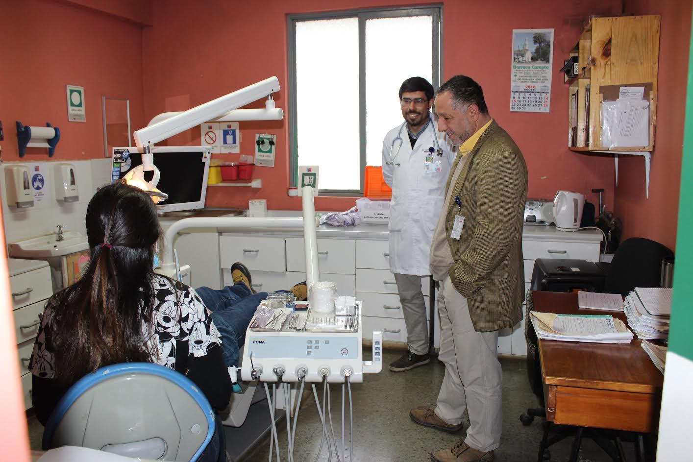 Director del SSMaule supervisó mejoras en hospital de Teno