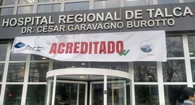Hospitales de Curicó, Talca y Linares cuentan con Acreditación en Calidad