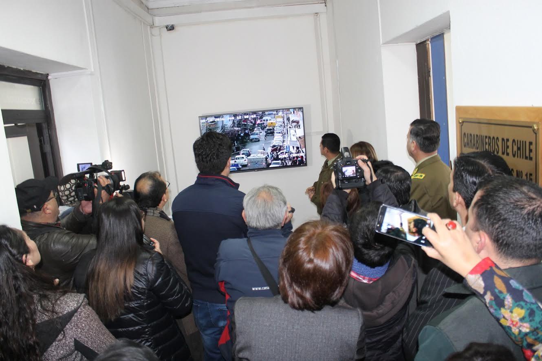 Linares cuenta con 12 cámaras de televigilancia gracias al Plan de Fortalecimiento Provincial del Gobierno