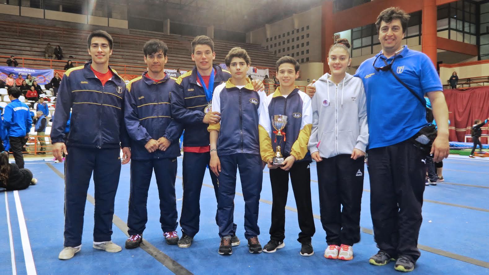 Gimnastas UCM brillaron en XV Copa La Serena