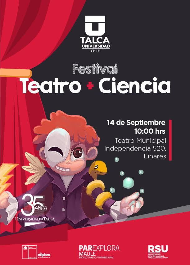 Teatro y Ciencia listo para la acción en Linares