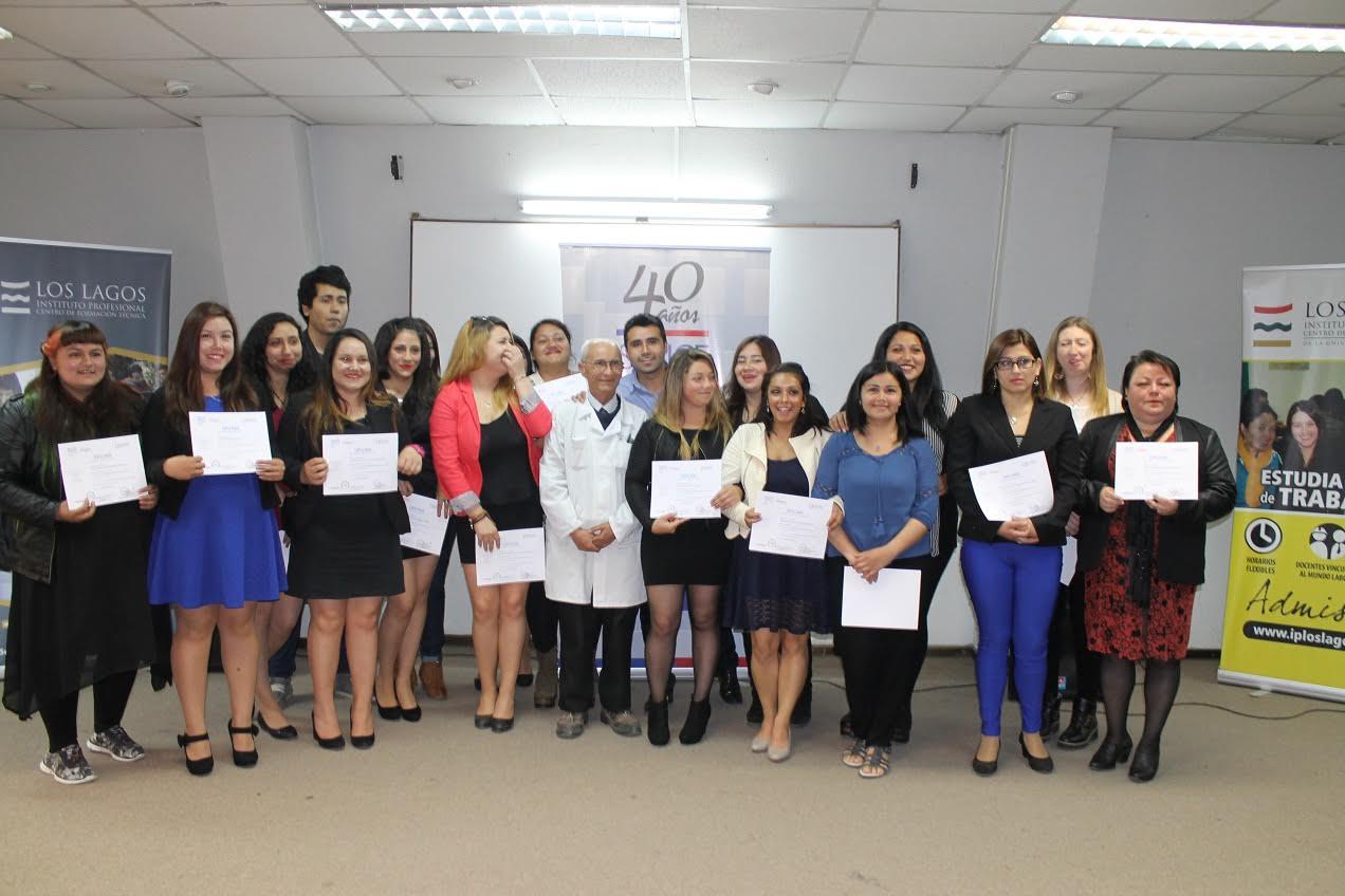 SENCE Maule certifica a la primera generación de +Capaz Continuidad de Estudios