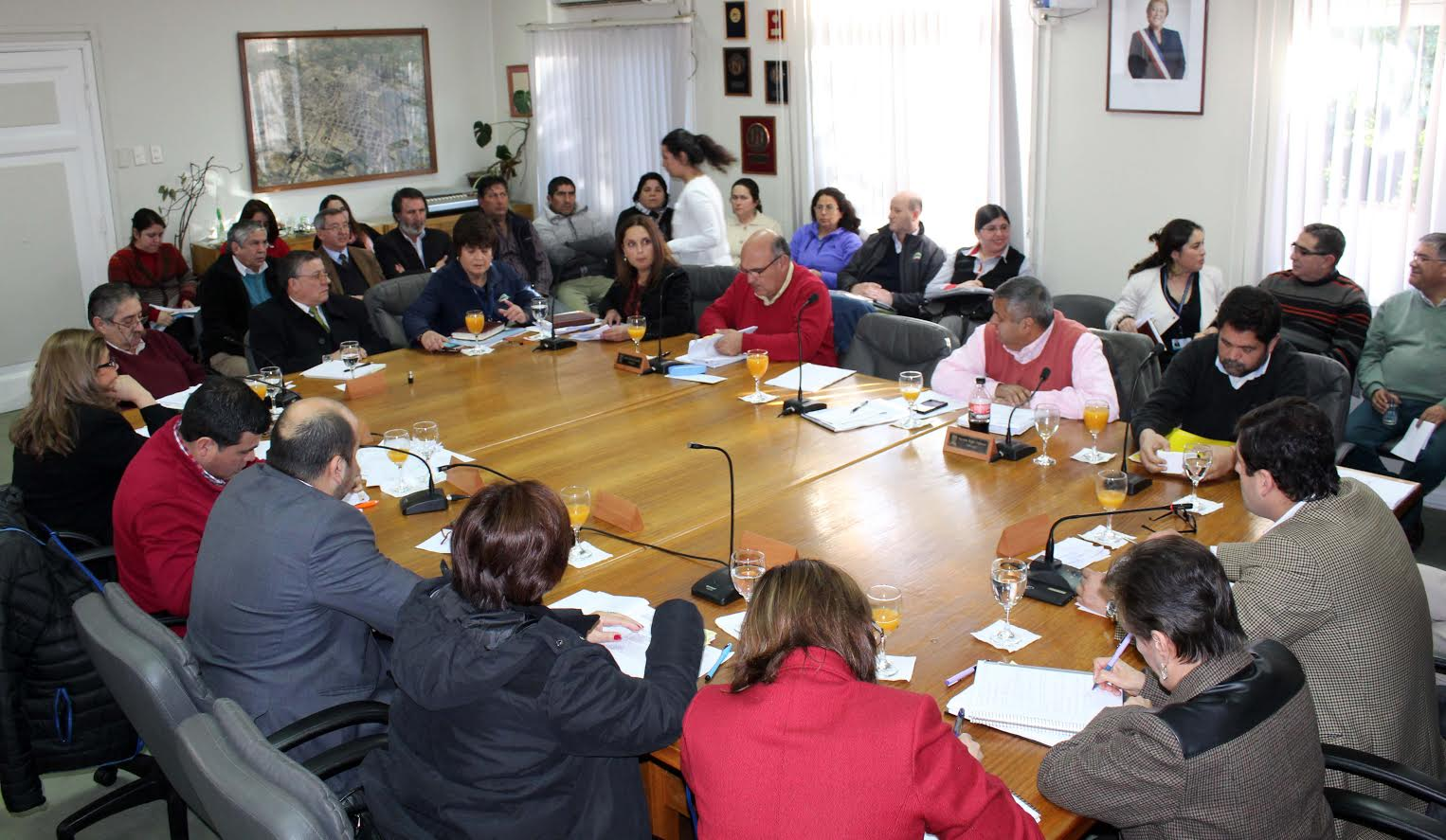 Concejo Municipal adjudica importante obras para la Linares