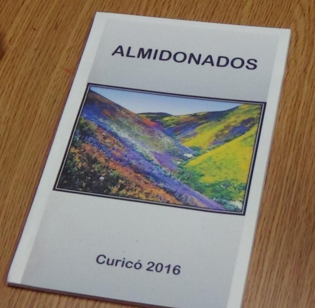 """Libro """"Almidonados"""" recoge creaciones de internos de Curicó que fueron parte de taller de poesía"""