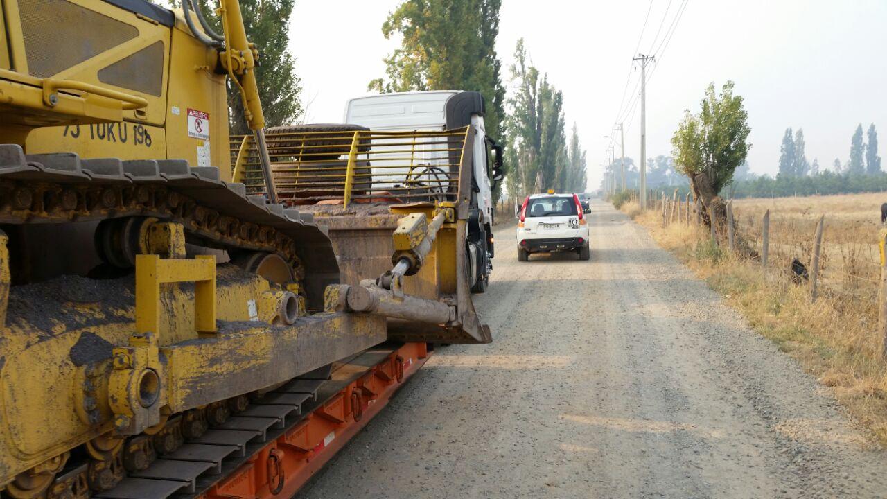 MOP apoya labores de emergencia por incendios forestales
