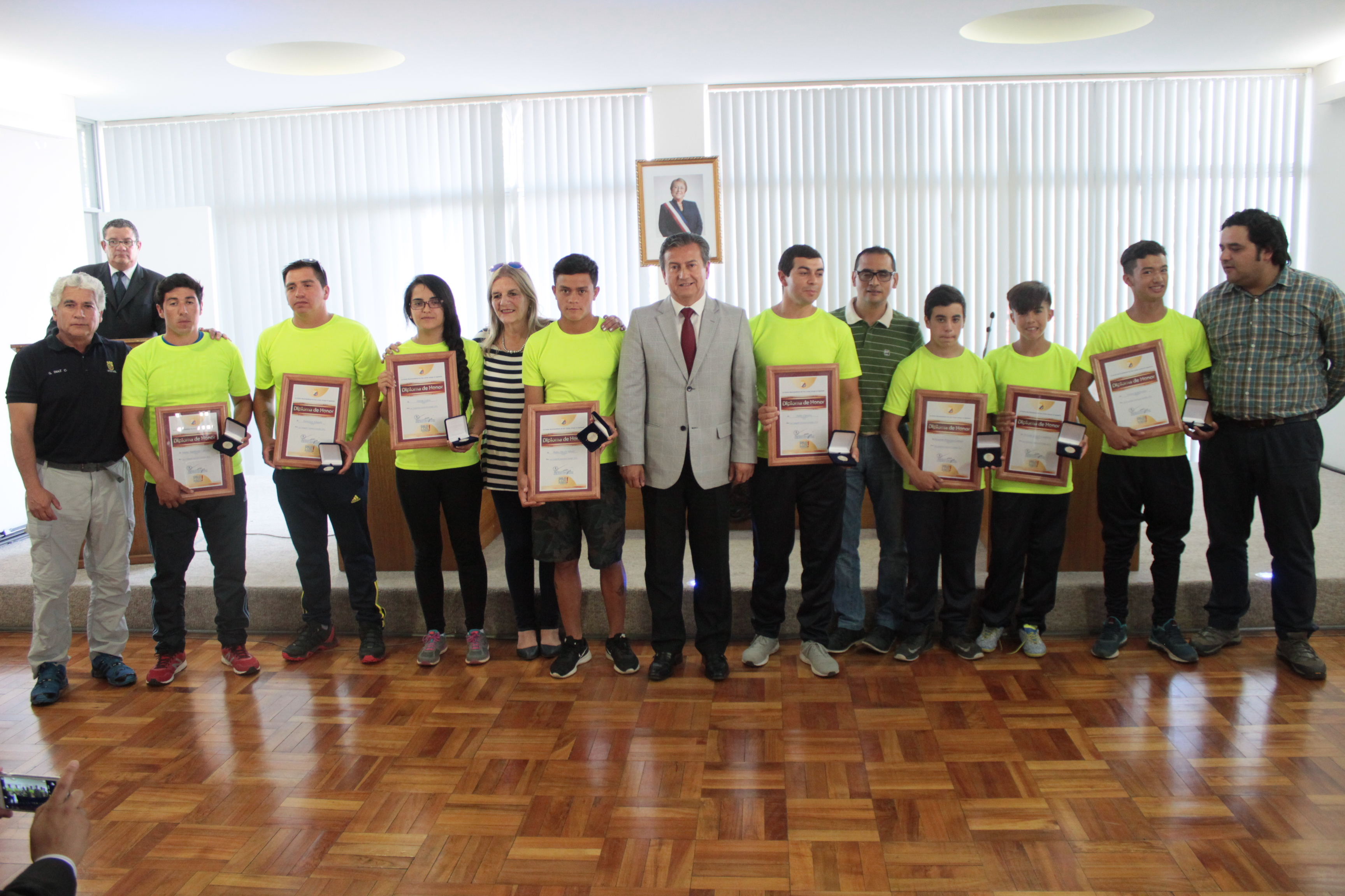 Municipalidad reconoce a los mejores deportistas sanjavierinos del 2016
