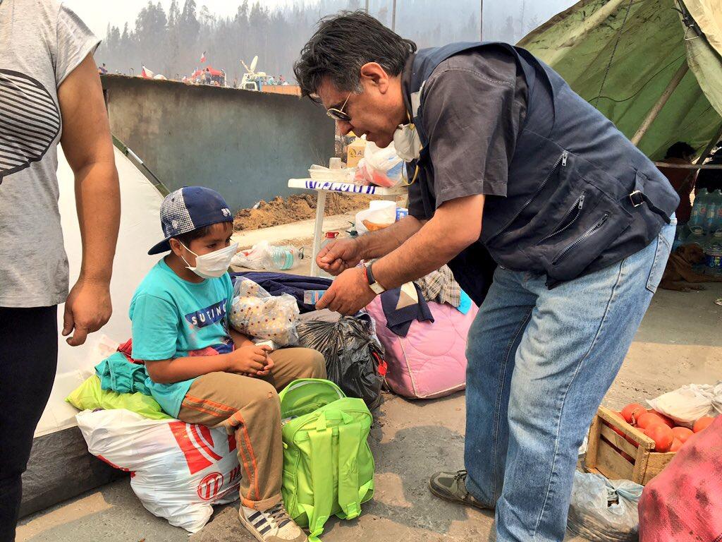 Desarrollo Social entregó Kit Lúdico de Emergencia a 144 niños damnificados por incendios forestales en el Maule