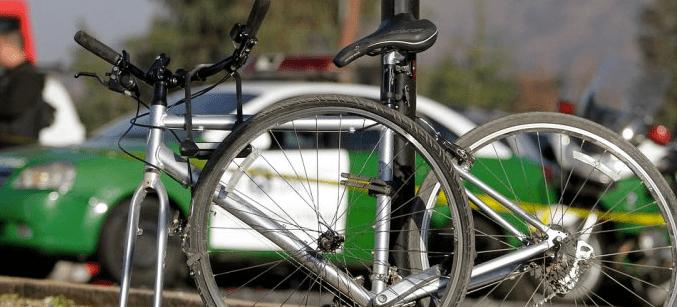 Ciclista habría sido arrollado por tren en Talca