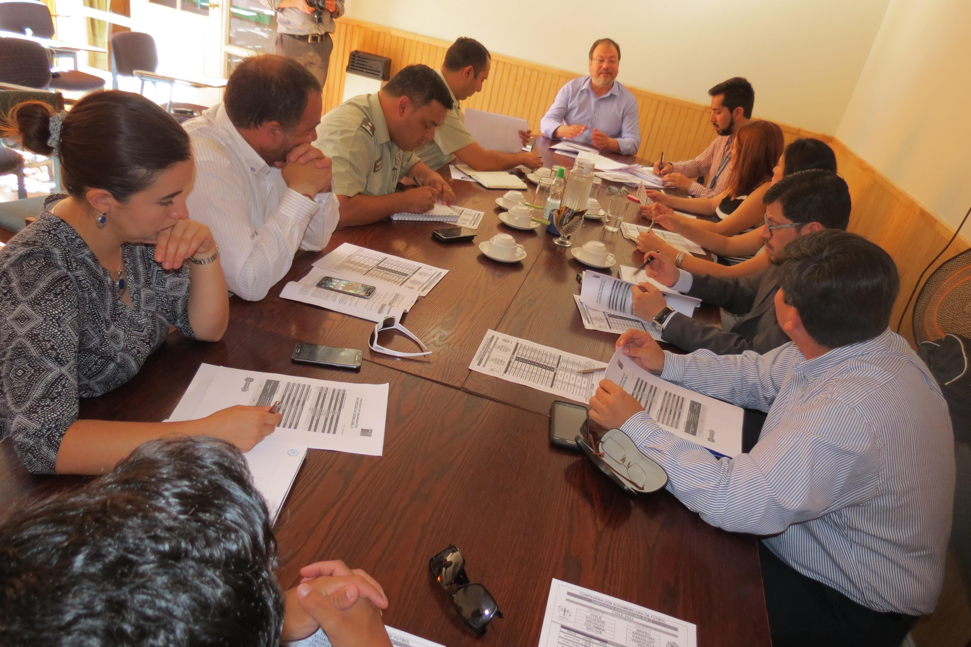 Comité Estadio Seguro invita a familia a campeonato Sudamericano Sub 17