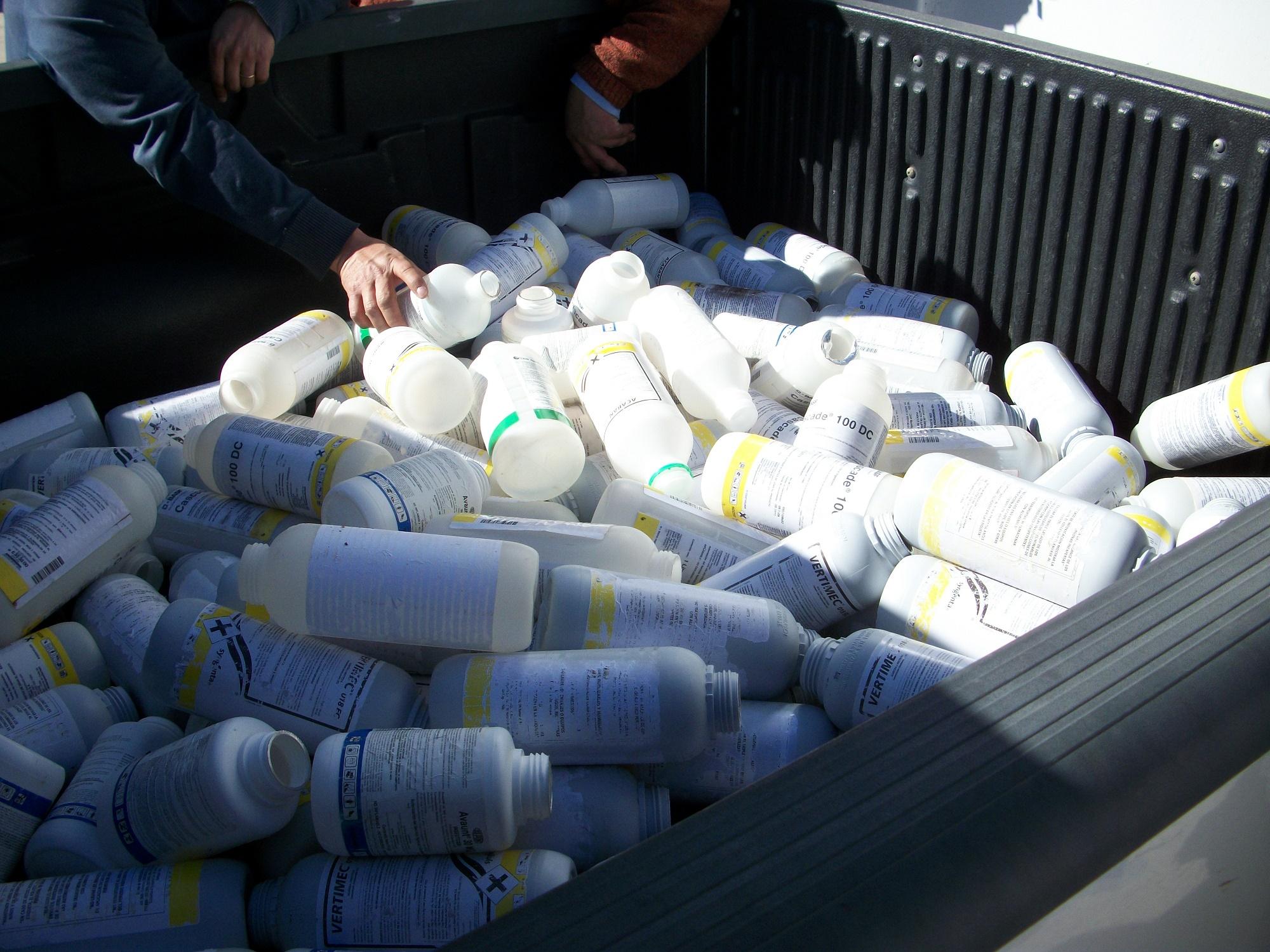 Región del Maule logró el cuarto lugar en recuperación de envases vacíos de fitosanitarios el 2016