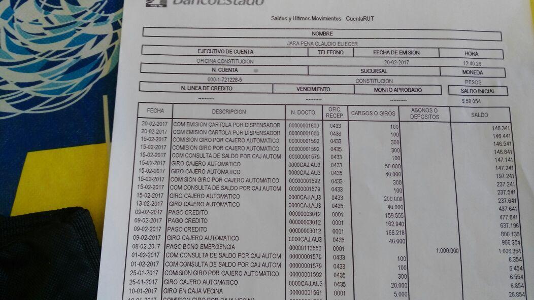 Ossandón exige que BancoEstado no quite parte del bono de riesgo a damnificados