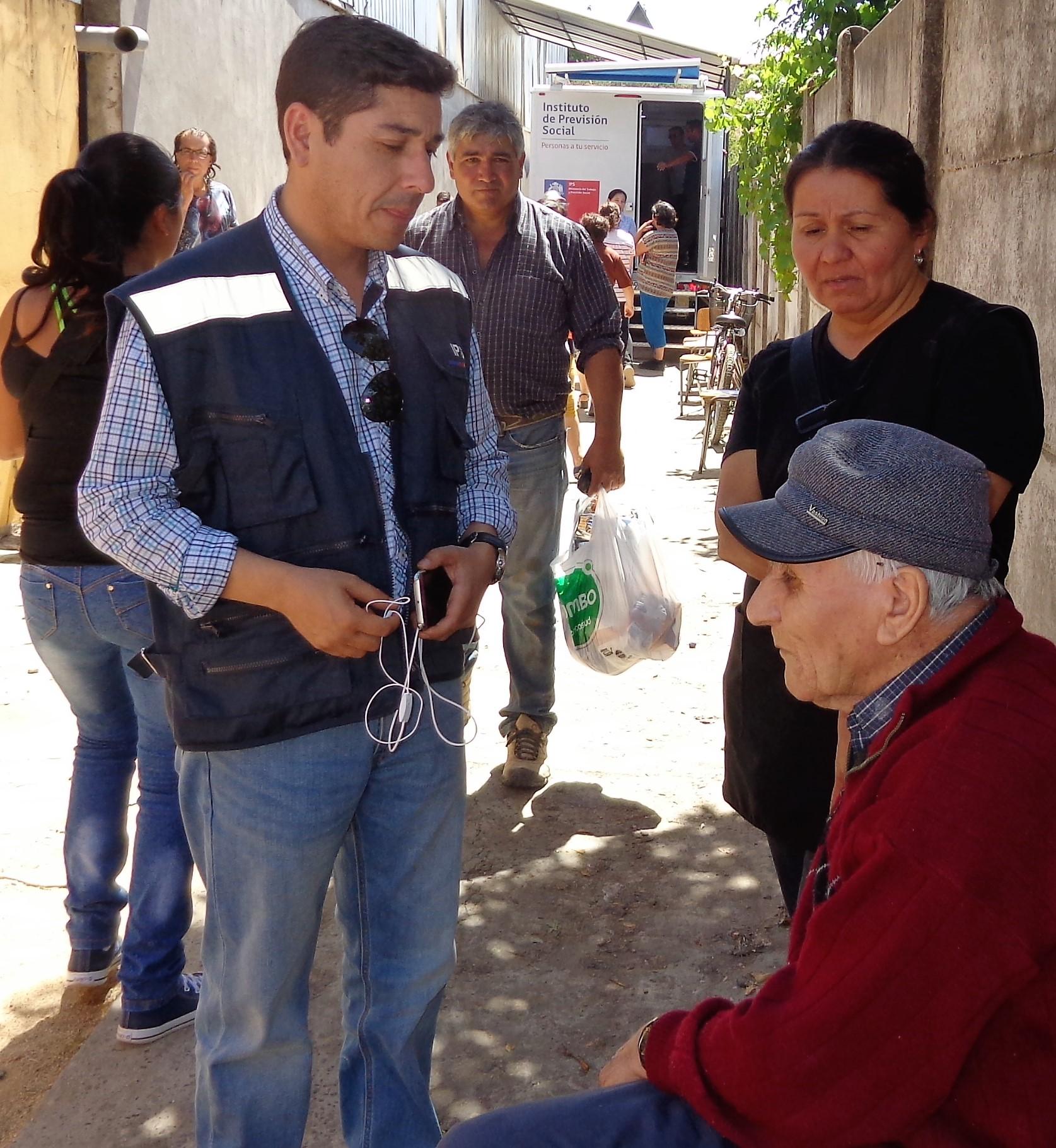 IPS Móviles finalizaron su labor en la región del Maule apoyando el pago rural de Hualañé
