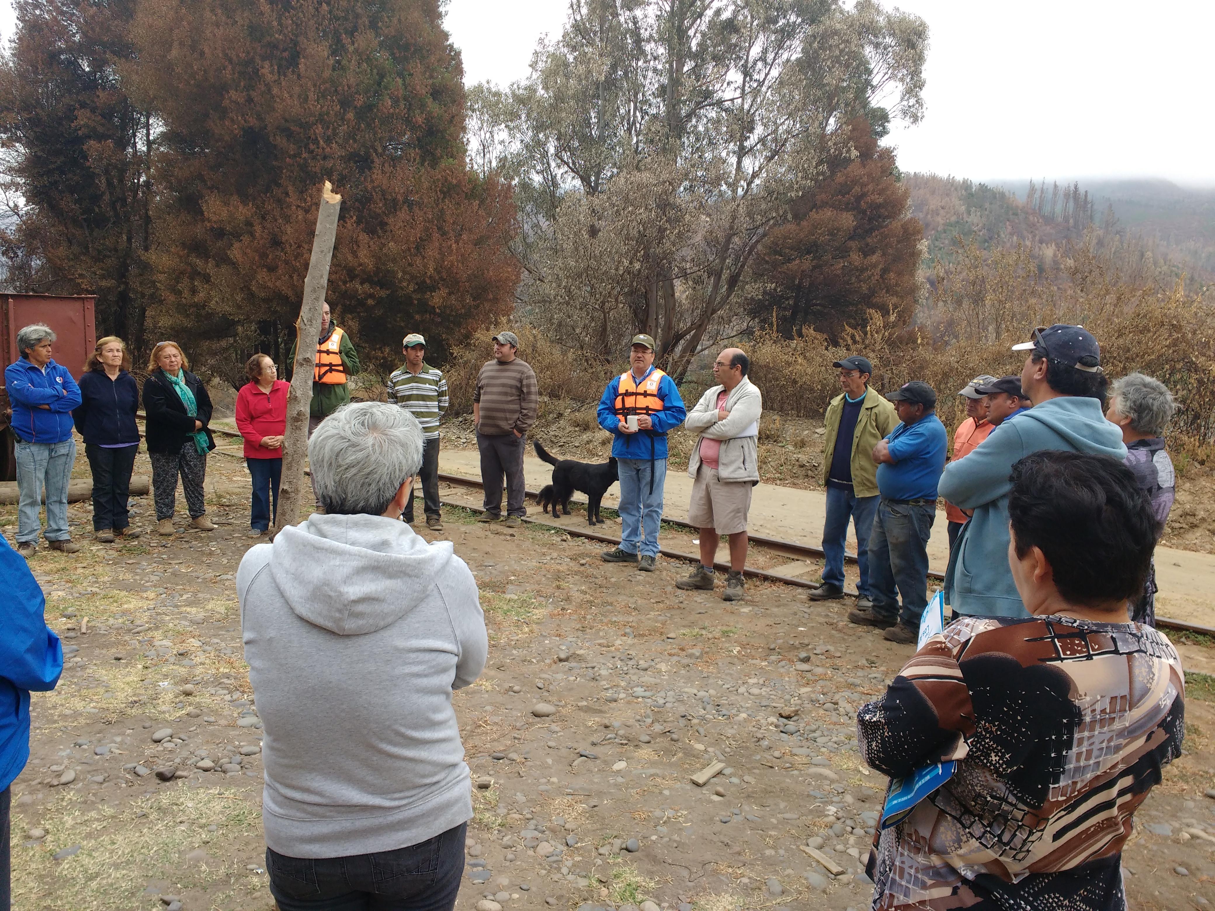 Gobierno verifica en terreno ayuda para familias damnificadas