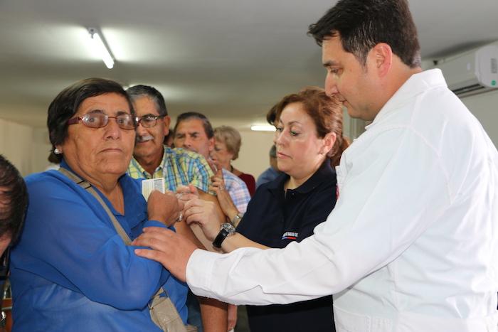 Autoridades lanzan campaña regional contra influenza en  Talca